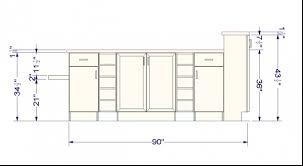 kitchen island height interior design
