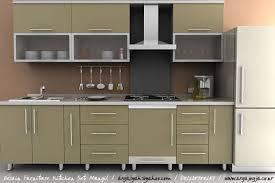 desain dapur lebar 2 meter desain furniture kitchen set mungil pada ruangan yang kecil