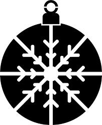 snowflake ornament stencils stencilease