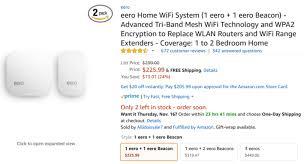 eero amazon deal alert eero 2nd gen router and beacon packs discounted up to