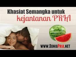 khasiat manfaat semangka untuk cara memperbesar penis secara alami