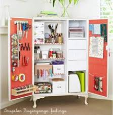 diy craft armoire with fold out table love this huge craft sewing armoire perfect that you can close it