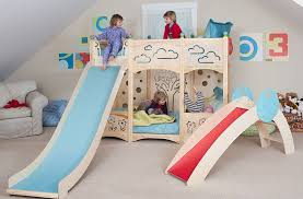 Castle Bunk Bed With Slide Bunk Beds With Slide For Toddlers Latitudebrowser
