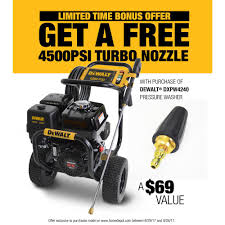 dewalt 4200 psi at 4 0 gpm gas pressure washer powered by honda