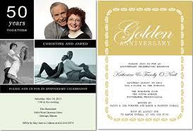 50th wedding anniversary invitations ideas of planning 50th anniversary happyinvitation