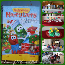 pack a box for operation christmas child with a veggie tales party