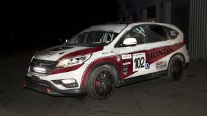 honda motorsport honda reveals one off cr v race car with diesel engine