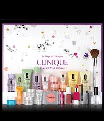 advent calendar advent calendar 24 days of clinique clinique