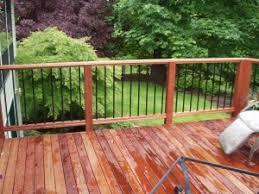 budget friendly mahogany decking