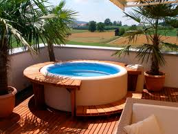 deck backyard ideas 160 best jacuzzi outdoor ideas images on pinterest