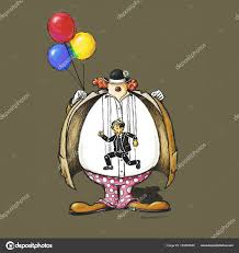 clown baloons scary clown balloons stock photo aroderick 154205546