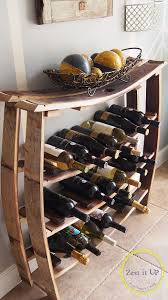 all things thrifty projects to try pinterest wine rack