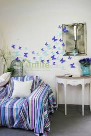 selling home interior products turquoise butterfly decorations promotion shop for promotional