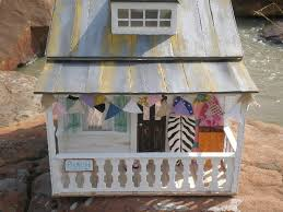 Shabby Chic Dollhouse by Shabby Chic Doll House Cottages Shabby Chic Beach Dollhouse