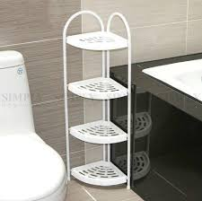 Bathroom Storage Rack Shower Corner Shelf White Caddy Bathroom Shelves Organiser Bath Storag