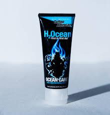 vegan tattoo aftercare cream ocean care skin moisturizing cream h2ocean