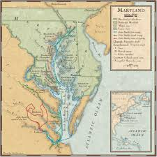 European Exploration Map John Smith U0027s Exploration Routes In The Chesapeake Bay National