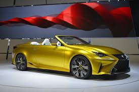 lexus convertible 2014 lexus rc convertible still under consideration autoevolution