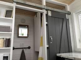 Ana White Tiny House Kitchen by Ana White Diy Barn Door For Tiny House Diy Projects