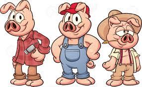 trois petits cochons banque d u0027images vecteurs et illustrations