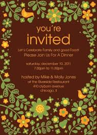excellent sle of invitation cards 52 in thanksgiving invitation
