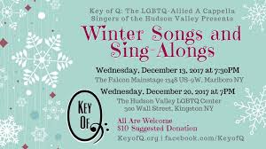 key of q presents winter songs and sing alongs kingston