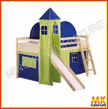 wooden loft bed with tent view mid sleeper mk product details