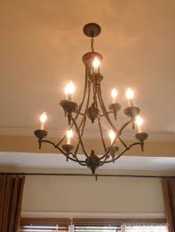 Replacing A Ceiling Fan With A Chandelier Replace Ceiling Fan With A Chandelier Using What You Have