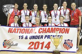 northern lights volleyball mn duo from albert lea competes at national aau volleyball tourney
