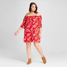 Red Cocktail Dress Plus Size Plus Size Clothing Target