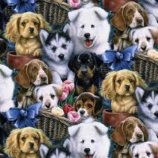 david textiles valentine u0027s puppies 44