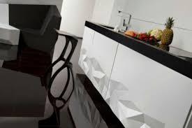 Futuristic Kitchen Designs Futuristic Kitchen Design Inspired By Origami Digsdigs
