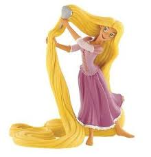 tangled cake topper tangled rapunzel brushing hair figurine bullyland figure