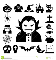 free halloween icon halloween icon set royalty free stock photography image 34012327