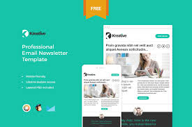 20 free business newsletter templates to download hongkiat