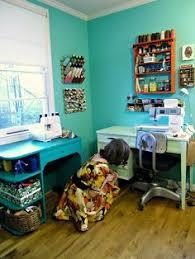 vintage thread spool hanging wall rack sewing room organization