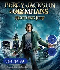 the lighting thief movie percy jackson the olympians the lightning thief is only 4 99 in
