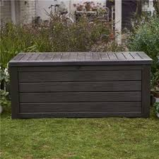 Keter Bench Storage 231666 Keter Westwood 150gallon Outdoor Patio Storage Deck Box And