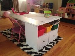 kids art table with storage kids art table with storage youtube kid regarding remodel 15