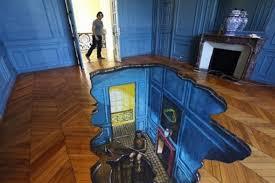 3d Bathroom Floors by 3d Floors Turn Your Bathroom Into An Ocean Mirror Online