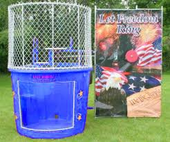 dunk booth rental tank rental ny nyc nj ct island