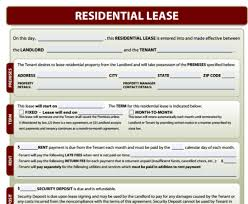 residential lease forms free download and software reviews
