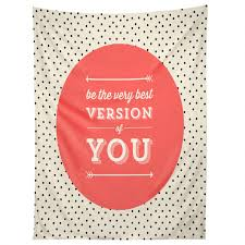 allyson johnson be the best version of you tapestry deny designs