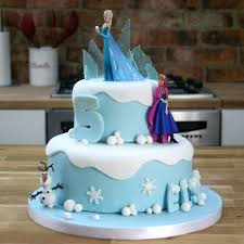disney frozen cake tutorial two tier birthday cake
