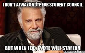 I Voted Meme - lovely i voted meme i don t always vote for student council