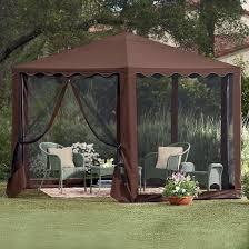 Replacement Canopy For 10x12 Gazebo by Garden Gazebo Canopy Living Home Outdoors 10 X 12 Gazebo