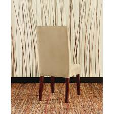 Dining Room Chair Covers Sure Fit Dining Chair Cover Sure Fit Stretch Jacquard Damask
