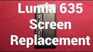 mobile window screen repair nokia lumia 635 screen replacement repair how to change youtube