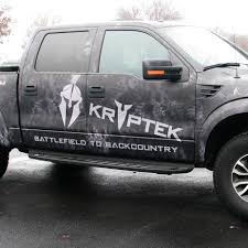 Pink Camo Ford Truck - kryptek vinyl roll full size vehicle cmyk grafix store