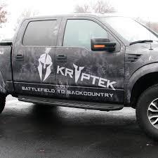 Ford Camo Truck Wraps - kryptek vinyl roll full size vehicle cmyk grafix store